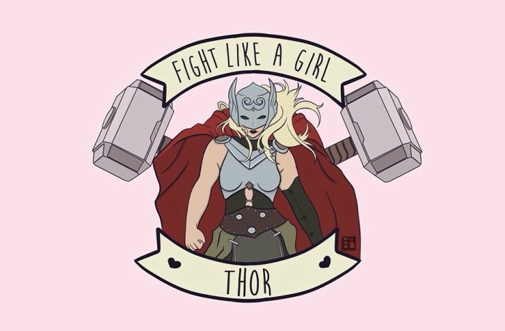 fight-like-a-girl-thor