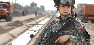 žena vojska