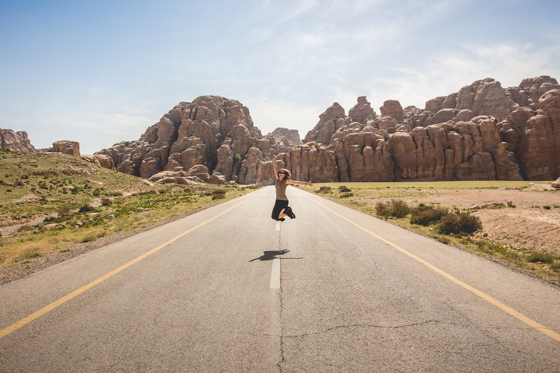 Road to Little Petra