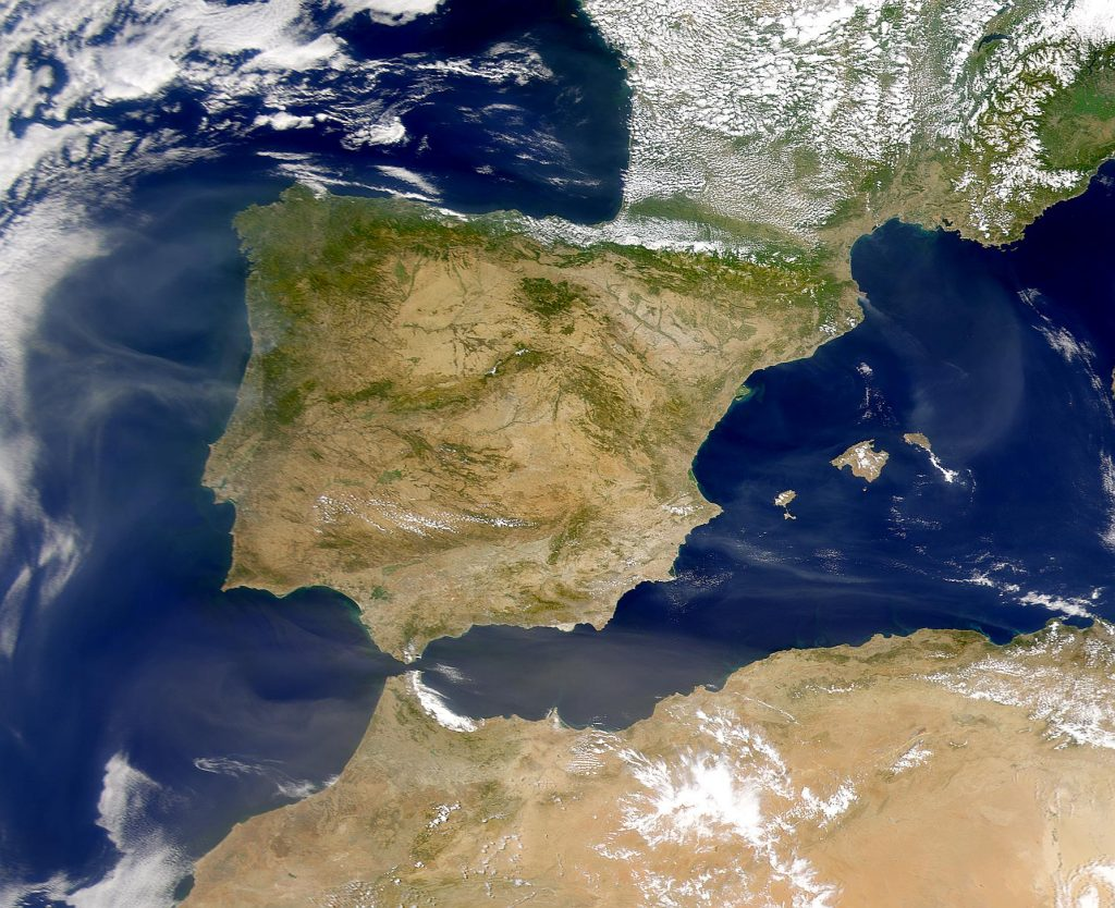spainfromspace