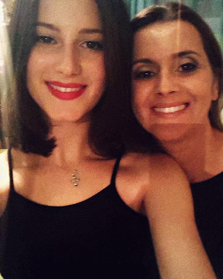 Kristina i mam