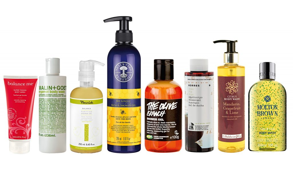 Get fresh: top shower gels for summer