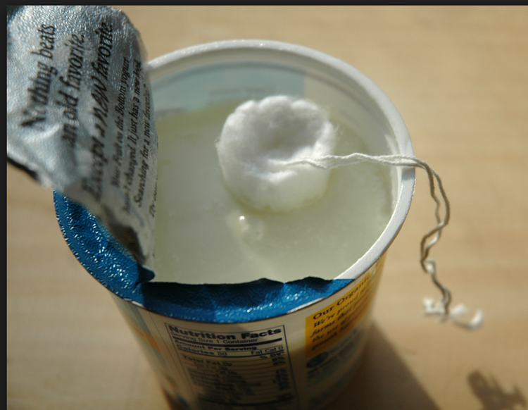 jogurt tampon
