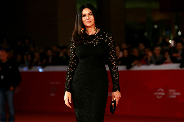ROME, ITALY - OCTOBER 20: Monica Bellucci attends a red carpet for 'Ville-Marie' during the 10th Rome Film Fest on October 20, 2015 in Rome, Italy. (Photo by Ernesto Ruscio/Getty Images)
