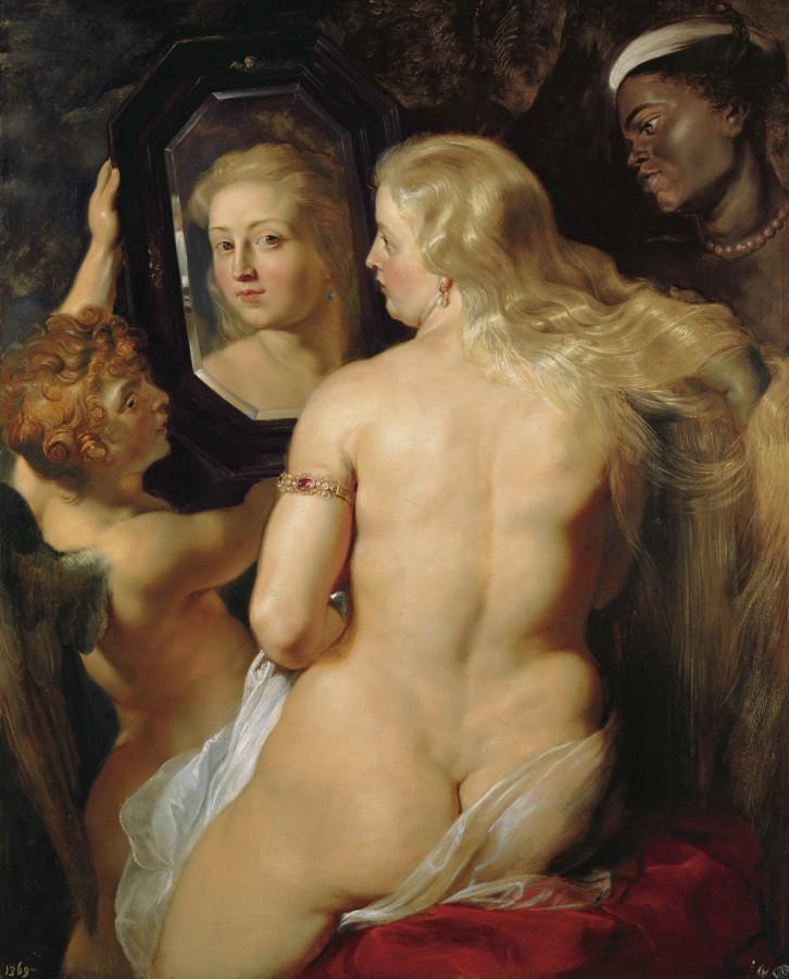 bloginja-rubens-venera-pred-ogledalom