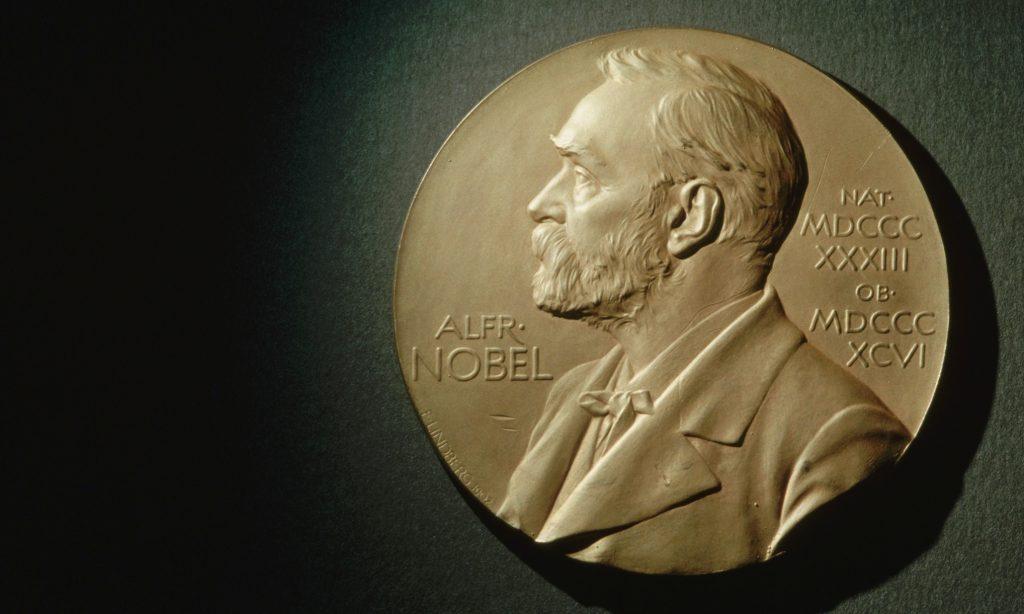 Nobel Peace Prize Bearing Likeness of Alfred Nobel