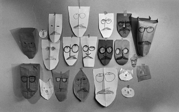 steinberg-masks-inge-morath-photography