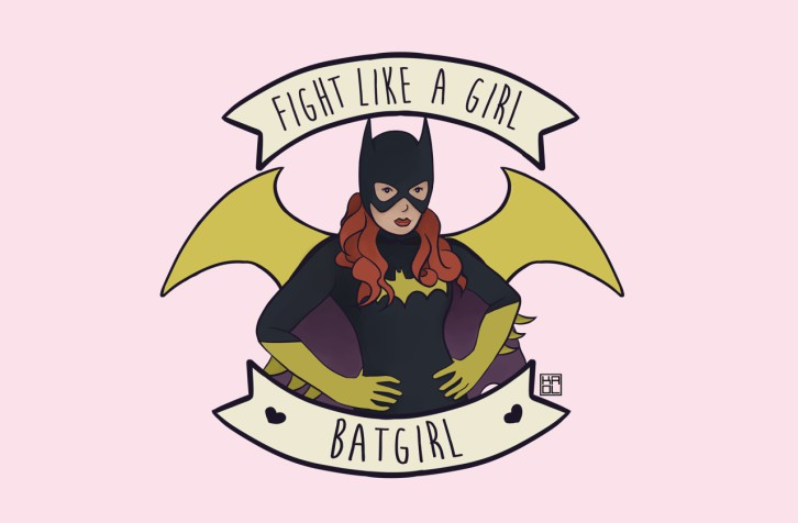 fight-like-a-girl-batgirl
