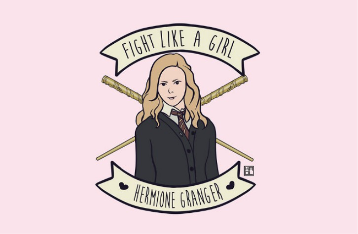 fight-like-a-girl-hermione
