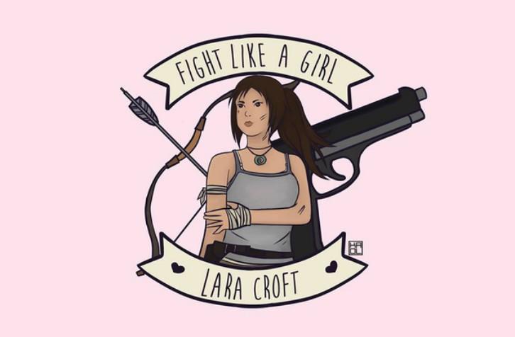 fight-like-a-girl-lara-croft