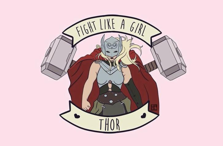 fight-like-a-girl-thor